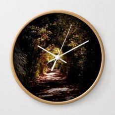 Into Wonderland Wall Clock