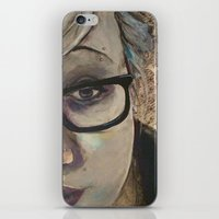 Smart Girl At The Party iPhone & iPod Skin