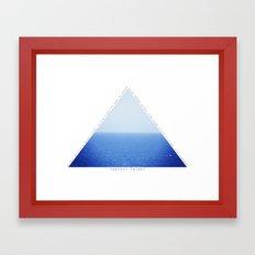 Always Be Like The Water Framed Art Print