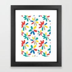 Floral Jewels Framed Art Print
