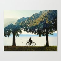 Into the Nature Canvas Print