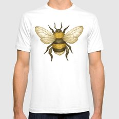 Bumble Mens Fitted Tee White SMALL