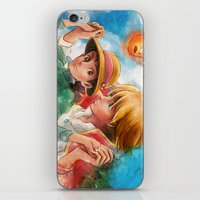 Sophie And Howl From How… iPhone & iPod Skin
