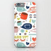 iPhone & iPod Case featuring Caffeine Addict by Julia Lavigne