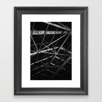 Roof Framed Art Print
