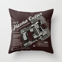 Dead Space - Plasma Cutter Throw Pillow