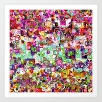 Interlinking Possibiliti… Art Print