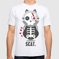 Scat Mens Fitted Tee Ash Grey SMALL