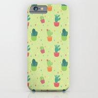 Cactus Party Pattern iPhone 6 Slim Case