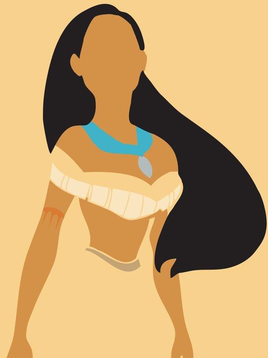 Pocahontas - Minimalist Art Print