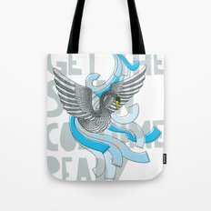 Get the Swan costume ready. Tote Bag