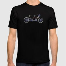 Tandem Mens Fitted Tee Black SMALL