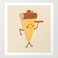 Pizza Delivery Art Print