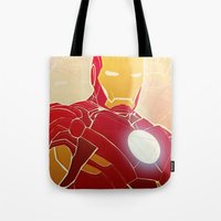 Iron Man Armor Tote Bag
