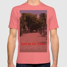 Icod de los Vinos Mens Fitted Tee Pomegranate SMALL