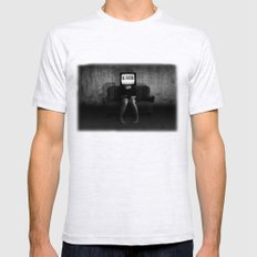 Lies Mens Fitted Tee Ash Grey SMALL