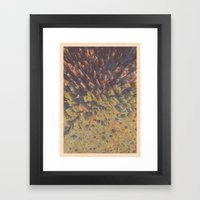 FLEW / PATTERN SERIES 008 Framed Art Print
