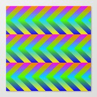 Colorful Gradients Canvas Print