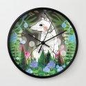In the Midnight Garden Wall Clock