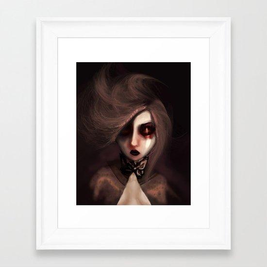 Duskia Framed Art Print