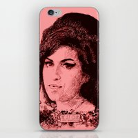 27 Club - Winehouse iPhone & iPod Skin