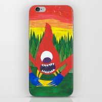 Nothing Like Camping... iPhone & iPod Skin