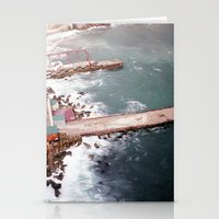 Cold Dark Sea Stationery Cards