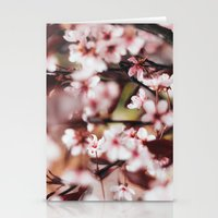 Blooming Blossom Detail Stationery Cards