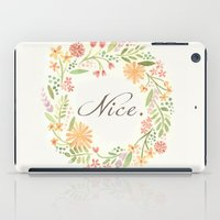 It's Nice iPad Case