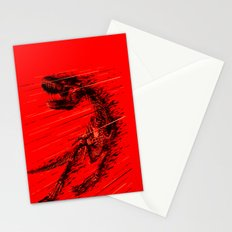Extinction of a T Rex Stationery Cards