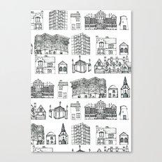 Made Of Bricks Canvas Print