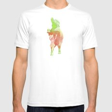 Bravo SMALL Mens Fitted Tee White