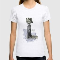 hey diddle diddle 2 Womens Fitted Tee Ash Grey SMALL