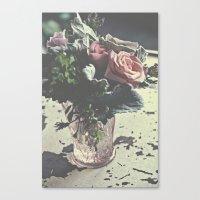 euphoric flowers  Canvas Print