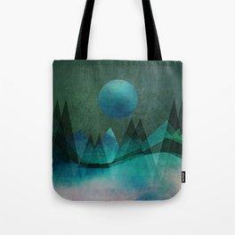 Tote Bag - Mountain Moon - Aurora Art
