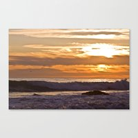 El Matador Sunset, 2011 Canvas Print