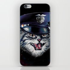 Police Cat iPhone & iPod Skin