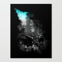 The Flight of the Knight Canvas Print