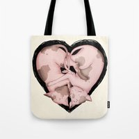 Snuggliphinx  Tote Bag
