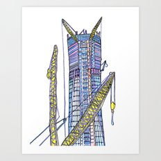Love NYC's everything No. 6 Art Print