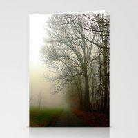 Foggy Morning 4 Stationery Cards
