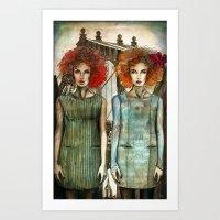 Bridge Owl Art Print