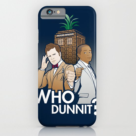 Who Dunnit? iPhone & iPod Case