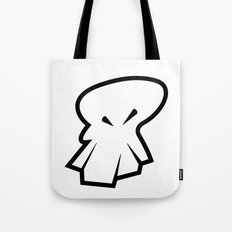 Sketch Skull Tote Bag