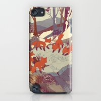 iPod Touch Cases featuring Fisher Fox by Teagan White
