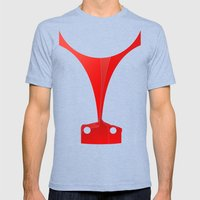 Silhouette Racers - Ferr… Mens Fitted Tee Tri-Blue SMALL