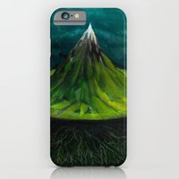 iPhone & iPod Case featuring AXIS MUNDI.  by Richard J. Bailey