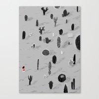 Cactarium Canvas Print