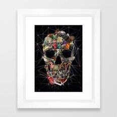 Fragile Skull Framed Art Print