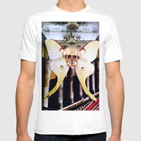 CATACOMBS Mens Fitted Tee White SMALL